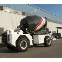 Buy cheap 4cbm Concrete Construction Mixer Truck With 4.33L Displacement Engine from wholesalers