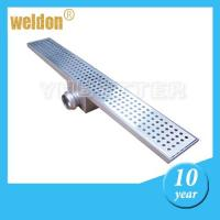 China bathroom channel shower drain on sale