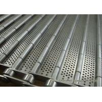 Buy cheap Stainless Steel Perforated Conveyor Belt For Ultrasonic Cleaning Line 125mm Pitches from wholesalers