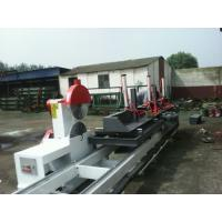 Buy cheap Circular Sawmill With Carriage Round Log Sliding Table Saw Timber Sawmill Saw from wholesalers