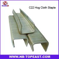Buy cheap C22 Hog Cloth Staples from wholesalers