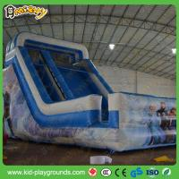 Buy cheap castle type inflatable slide,attraction inflatable sliding slide,big trapaulin inflatable slide from wholesalers