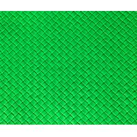Buy cheap Waterproof Green Faux Leather Fabric For Handbags With Lattice Texture from wholesalers