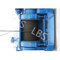Buy cheap Mining Underground Hydraulic Crane Winch High Strength Steel With Bule / Yellow Color from wholesalers