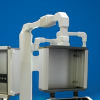Buy cheap Metal Operator Interface Enclosures Box Support Arm Bracket Humanized Design product