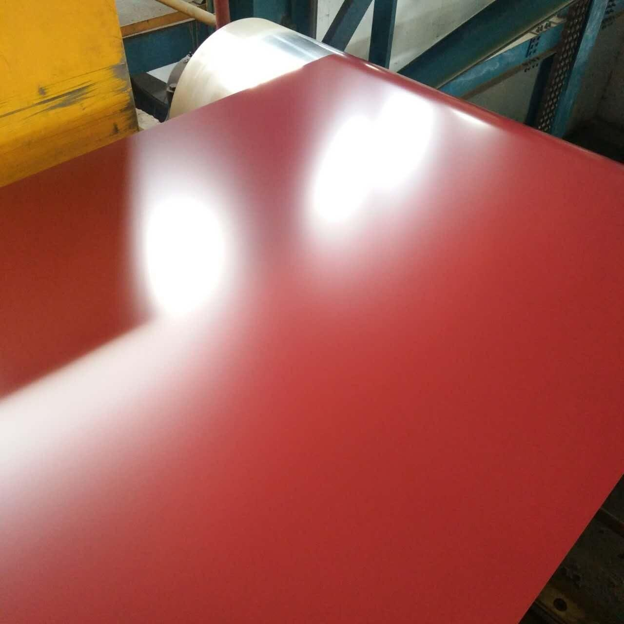 Buy cheap G550 High Strength Prepainted Galvalume PPGL Steel Coil PVDF  Full Hard from wholesalers