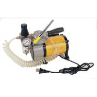 Buy cheap 1/8HP ( 95w )  Mini air compressor art painting tools 1600 / 1350rpm high speed from wholesalers