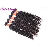 Buy cheap Virgin Indian Black Hair Extensions Double Drawn Original Raw Unprocessed from wholesalers