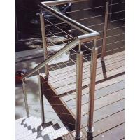 Buy cheap Deck railing outdoor stair railing staircase design from wholesalers