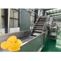 Buy cheap Food Grade Fruit Chips Making Machine 1500 T / Day Low Power Consumption from wholesalers