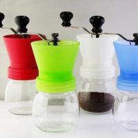 Buy cheap Coffee Grinder with Ceramic Machinery, Made of Glass and PP Materials from wholesalers