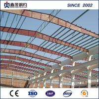 Buy cheap Customized Design Steel Structure Building Workshop with High Strength from wholesalers