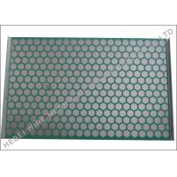 Buy cheap Flat PWP Solid Control Shaker Screen Panel Hookstrip Tension ISO Approval from wholesalers