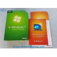 Buy cheap MS Windows 7 Home Premium System Builder OEM DVD 1 Pack 32 / 64 Bit Win 7 Upgrade product