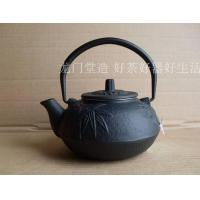 Buy cheap Chinese Antique Cast Iron Tea Pot 600ml With Bamboo & Plum Blossom Design from wholesalers