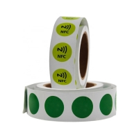 Buy cheap 13.56Mhz HF Rfid Tag Cheap Roll Nfc Sticker/Label for Product Tracing from wholesalers