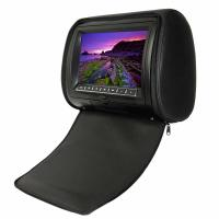 Buy cheap Black  OSD, IR, FM, Games, Joysticks 8GB - 16GB Portable DVD Player Car Headrest With Wide Angle from wholesalers