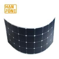 Buy cheap 100 Watt Semi Flexible Solar Panel System For Roof Power Generation from wholesalers
