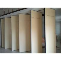 Buy cheap Solid MDF Fabric Foldable Partition Wall , 1230 mm Panel Width from wholesalers