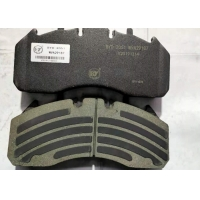 Buy cheap Low Metallic 80000km Commercial Vehicle Brake Pads For Bus And Truck from wholesalers