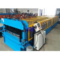 Buy cheap Building Material Metal Roof Roll Forming Machine 3 Phase 380V For Roofing Cladding product