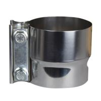 Buy cheap Tube 3 Inch Lap Joint Band Exhaust Clamp CNC Laser Cutting Processing from wholesalers