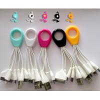 Buy cheap micro flat stretching USB charging cable for transport data from wholesalers