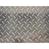 Buy cheap Alloy 3003 Aluminium Chequer Plate Sheet , Aluminum Diamond Tread Plate For Building Floors from wholesalers