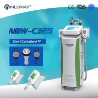 Buy cheap Cryotherapy Fat freezing Cryolipolysis Slimming Machine For cellulite reduction from wholesalers