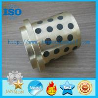 Buy cheap Self lubricating brass graphite bushes,Brass graphite bushings, Self-lubricating brass/bronze bush with graphite,Bushes from wholesalers