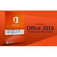 Buy cheap best MS Office 2016 Profesional plus software Office 2016 Pro Plus key card 2016 office pro plus Original key code card product