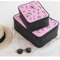 Buy cheap Cartoon Receive Travel Luggage Clothes Bags / Foldable Reusable Bag from wholesalers