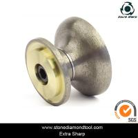 Buy cheap Sintered Blazed Diamond Stone Edging CNC Profile Wheel Portable Router Bits from wholesalers