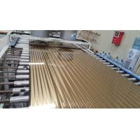 Buy cheap 304 Rose Gold Stainless Steel Sheet Hotel Metal Project 304 2mm 1250MM 1500MM Width 6000mm Length Whole product