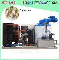 Buy cheap -5 ℃ Germany Bitzer Compressor Flake Ice Machine Air / Water Cooling from wholesalers