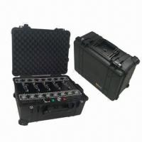 Buy cheap Wireless Signal Jammers | 500W Powerful Waterproof 5-band Cellphone Signal Jammer from wholesalers