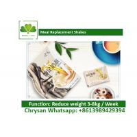 Buy cheap Low Calorie Meal Supplement Shakes , Solid Beverage Fast Weight Loss Diet product