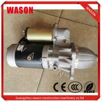 Buy cheap High Durability Excavator Starter Motor 10461758 39MT Electrical Parts from wholesalers