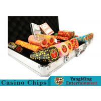 Buy cheap 10,000Pcs 11.5g Clay Poker Chip Sets With Aluminum Case For Gambling Games product