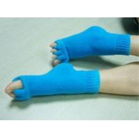 Buy cheap Ladies Blue Acrylic / Polyester / Spandex Toe Separator Foot Alignment Socks from wholesalers