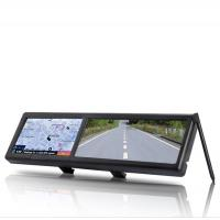 Buy cheap TFT Touchscreen 4.3 Inch Car GPS Navigators With Bluetooth Rearview Mirror, 128MB ROM from wholesalers