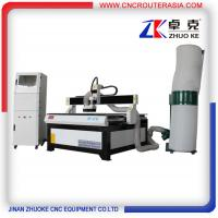 Buy cheap Advertising Wood CNC Cutting Machine 4*4 feet with dust collector ZK-1212-2.2KW from wholesalers