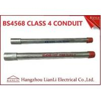 Buy cheap Electrical BS4568 Gi Conduit Pipe 4 With Maximum Size Up to 150mm from wholesalers