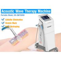 Buy cheap air compressor 2-5 bar Effective Cellulite Treatment Acoustic Wave Therapy Equipment For Body Slimming from wholesalers