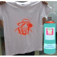 Buy cheap Silver OutdoorFast Drying  Fabric Spray Paint  Male Valve 200Ml / Can from wholesalers