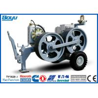 Buy cheap High Power Cable Stringing Equipment / Underground Cable Pulling Winch for Overhead Line from wholesalers
