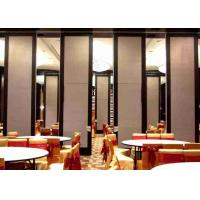 Buy cheap Top Hung Room Partition Wall , Woven Fabric Office Partition Wall Light Weight from wholesalers