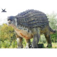 Buy cheap Animatronic Outdoor Dinosaur Statues , Dinosaur Yard Decorations With Infrared Ray Sensor product