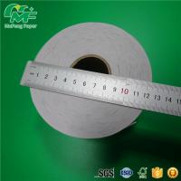 Buy cheap atm thermal cashier receipt paper roll coated with a sleek shiny treatment from wholesalers