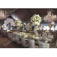 Buy cheap Gorgeous Lining Adored Aluminum Frame Canopy Beautiful Wedding Tents from wholesalers